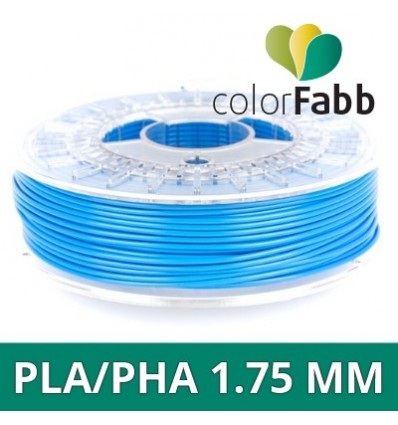 "Fil PLA / PHA ColorFabb - 1.75 mm Bleu Ciel ""Sky Blue"""