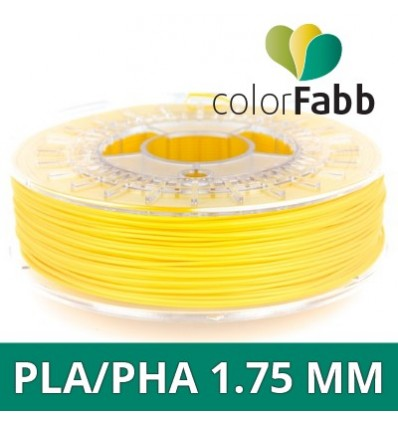 "ColorFabb PLA 1.75 mm Jaune ""Signal Yellow"" - 750g"