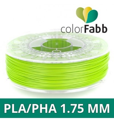 "ColorFabb 1.75 mm Vert Intense ""Intense Green"" - PLA / PHA 1.75 mm - 750g"