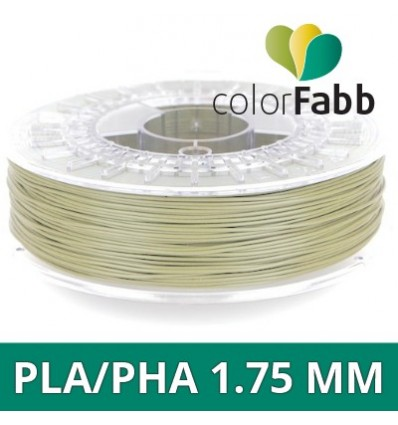 "Bobine PLA / PHA - 1.75 mm Beige Vert ""Greenish Beige"" ColorFabb"