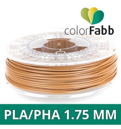 "PLA / PHA - 1.75 mm Marron clair ""Light Brown"" ColorFabb"