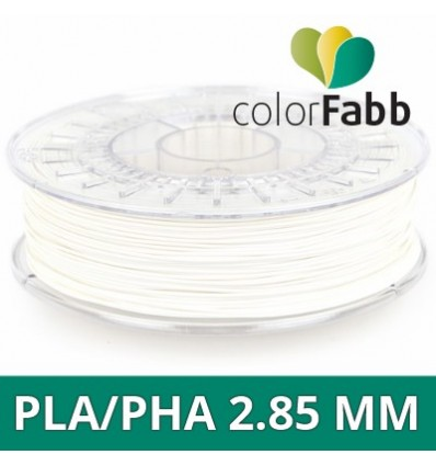 "PLA / PHA ColorFabb - 2.85 mm Blanc ""Standard White"""
