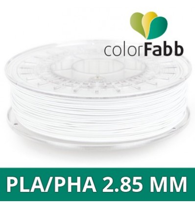 "ColorFabb PLA / PHA - 1.75 mm Blanc ""Bluish White"""