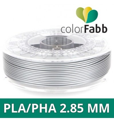 "PLA 1.75 mm ColorFabb Argent brillant ""Shining Silver"""