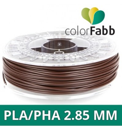 "PLA/PHA ColorFabb - 1.75 mm Chocolat ""Chocolate Brown"""