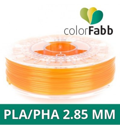PLA - 1.75 mm Orange Transparent ColorFabb