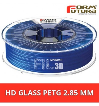 Fil PET FormFutura - HD Glass 2.85 mm Bleu