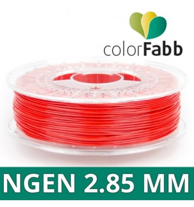 ColorFabb nGen fil - 2.85 mm Rouge