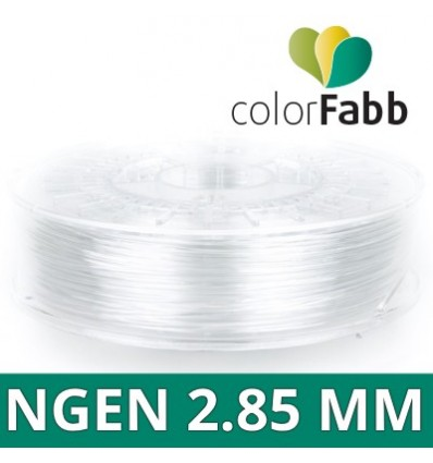 ColorFabb filament nGen - 2.85 mm Transparent