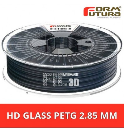 "HDGlass - PET 2.85 mm FormFutura ""See through black"""