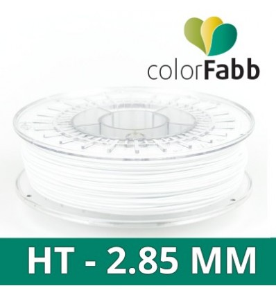Colorfabb HT Blanc 2.85 mm - bobine 700g