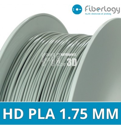 Fil HD PLA 1.75 mm Rouge Fiberlogy 850G