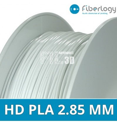 HD PLA 2.85 mm Fiberlogy Blanc 850G