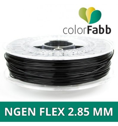 nGen Flex ColorFabb - 2.85 mm Noir 750g Noir