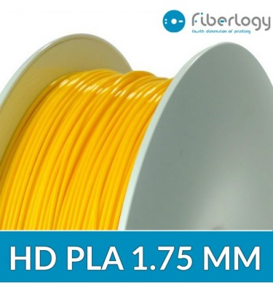 Filament HD PLA 1.75 mm Jaune - Fiberlogy 850G