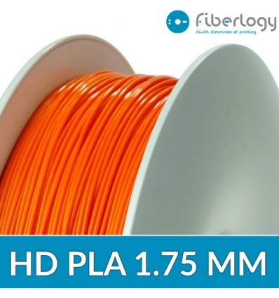 Bobine Fiberlogy HD PLA Orange - 1.75mm 850G