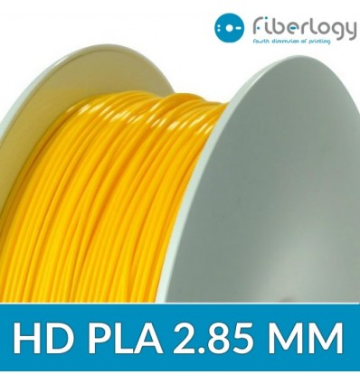 HD PLA 2.85 mm Fiberlogy - Jaune 850G