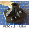 Bobine PET-G dailyfil - 1kg Noir 1.75 mm