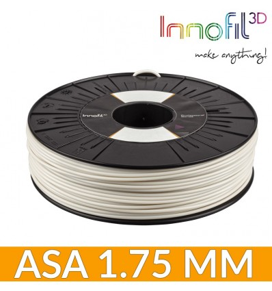 Fil professionnel : ASA Innofil3D naturel - 1.75 mm / 750g