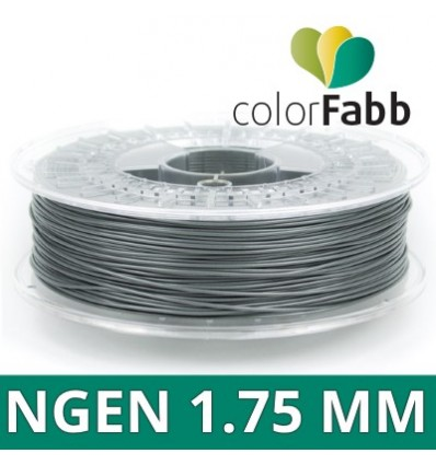 "Fil nGen ColorFabb - 2.85 mm Gris ""Gray Metallic"" 750g"