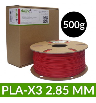 Filament PLA X 1.75 mm dailyfil - 500g 2.85 mm