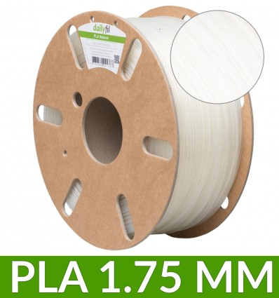 Fil PLA dailyfil - 1.75 mm 1Kg Naturel