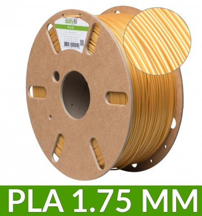 Bobine PLA 1.75 mm Or - 1Kg dailyfil