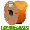 Bobine PLA dailyfil Orange - 1Kg 1.75 mm