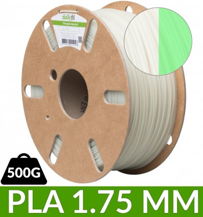 Dailyfil PLA phosphorescent - 1.75 mm 500g