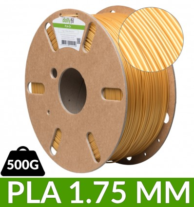 Bobine PLA 1.75 mm - Or 500g dailyfil