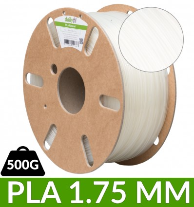 Filament PLA dailyfil 500g - 1.75 mm Naturel
