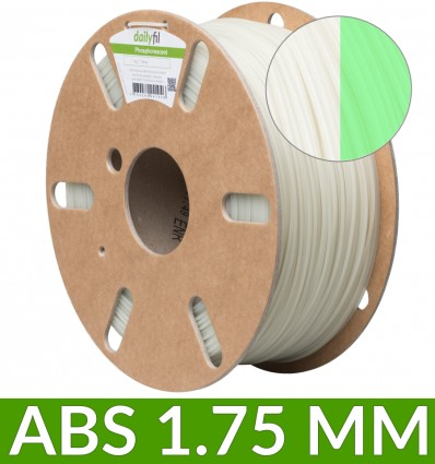ABS 1.75mm phosphorescent dailyfil - 1kg