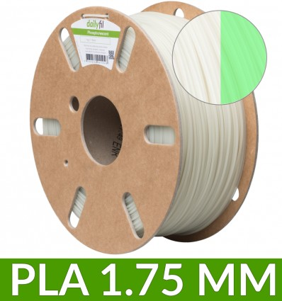 Filament PLA phosphorescent dailyfil - 1.75 mm 1kg