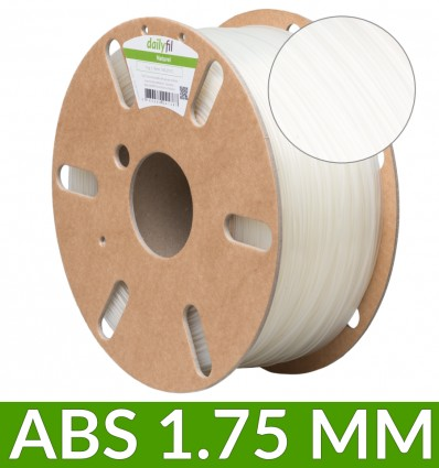 Filament ABS dailyfil - 1.75 mm Naturel 1Kg