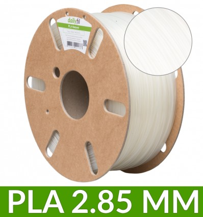 Filament dailyfil PLA - 2.85 mm Naturel 1Kg