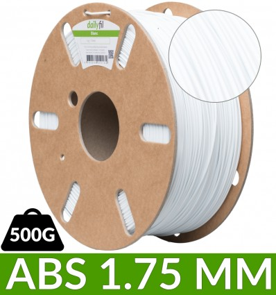 500g filament ABS Blanc - dailyfil 1.75 mm