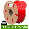 Flexible TPU 98A 1.75mm rouge dailyfil 0.5kg
