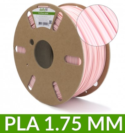 PLA 1.75 mm rose pastel - dailyfil 1kg