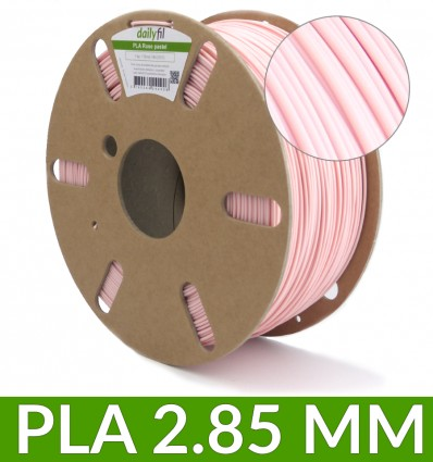Bobine fil PLA 2.85 mm rose pastel