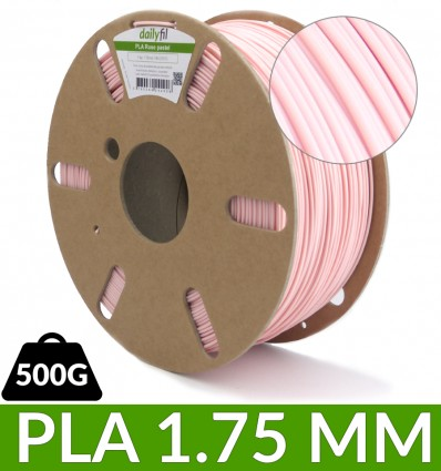 PLA rose pastel 500g 1.75 mm - dailyfil