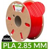 Fil PLA 2.85 mm rouge dailyfil - bobine de 500g