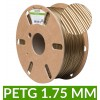 Filament PET-G Bronze 1.75 mm 1kg - dailyfil