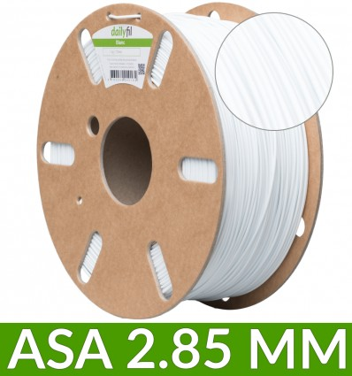 Dailyfil : filament ASA 2.85 mm blanc 1kg