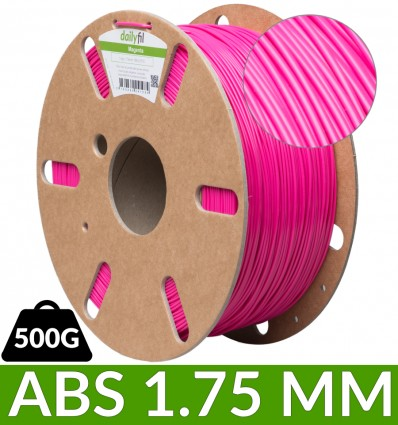 Bobine ABS dailyfil 500g - 1.75 mm Magenta
