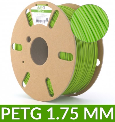 Filament PET-G vert dailyfil - 1.75 mm 1kg