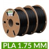 Pack PLA noir 1.75 mm 1kg dailyfil - 3 bobines