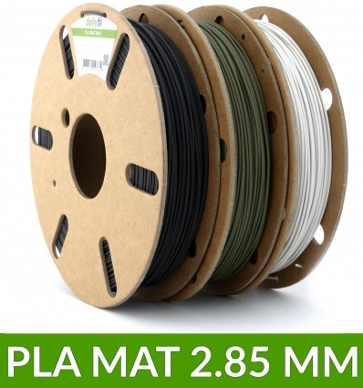 Pack PLA mat dailyfil 3 bobines 500g - 2.85 mm