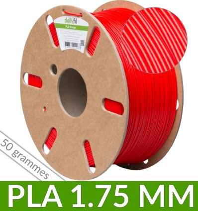 Dailyfil 50g PLA - 1.75 mm Rouge