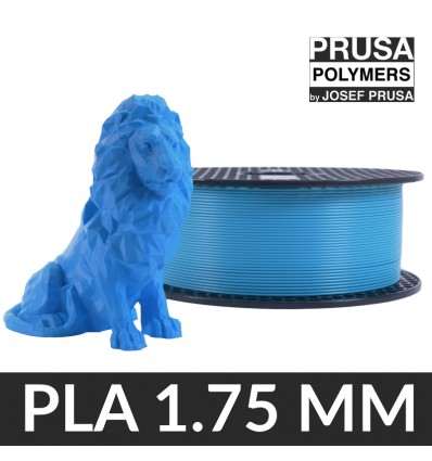 Fil PLA 1.75 mm Prusament Azure Blue - 1 kg