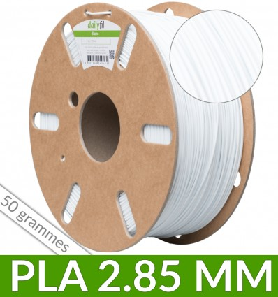 Dailyfil 50g PLA - Blanc 2.85 mm